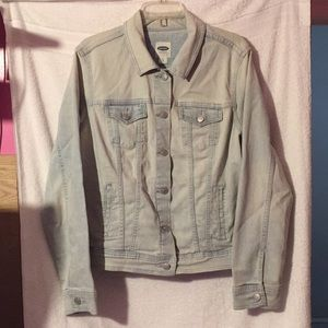 Old Navy extra large mineral wash jean jacket